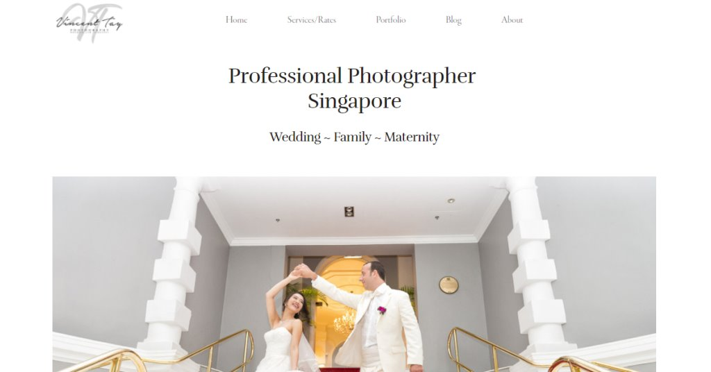 Vincent Tay Top Photography Studios in Singapore