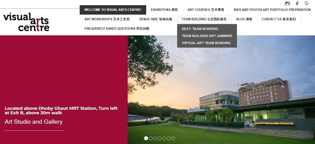 Visual Arts Centre Top Art Classes in Singapore