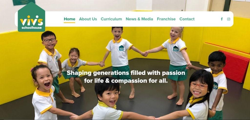 Viv's Top Kindergartens in Singapore