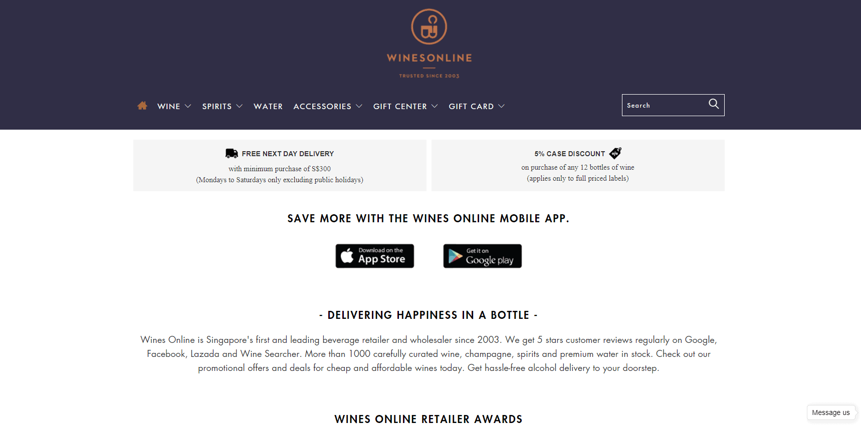 Wines Online Top Wine Shops Singapore