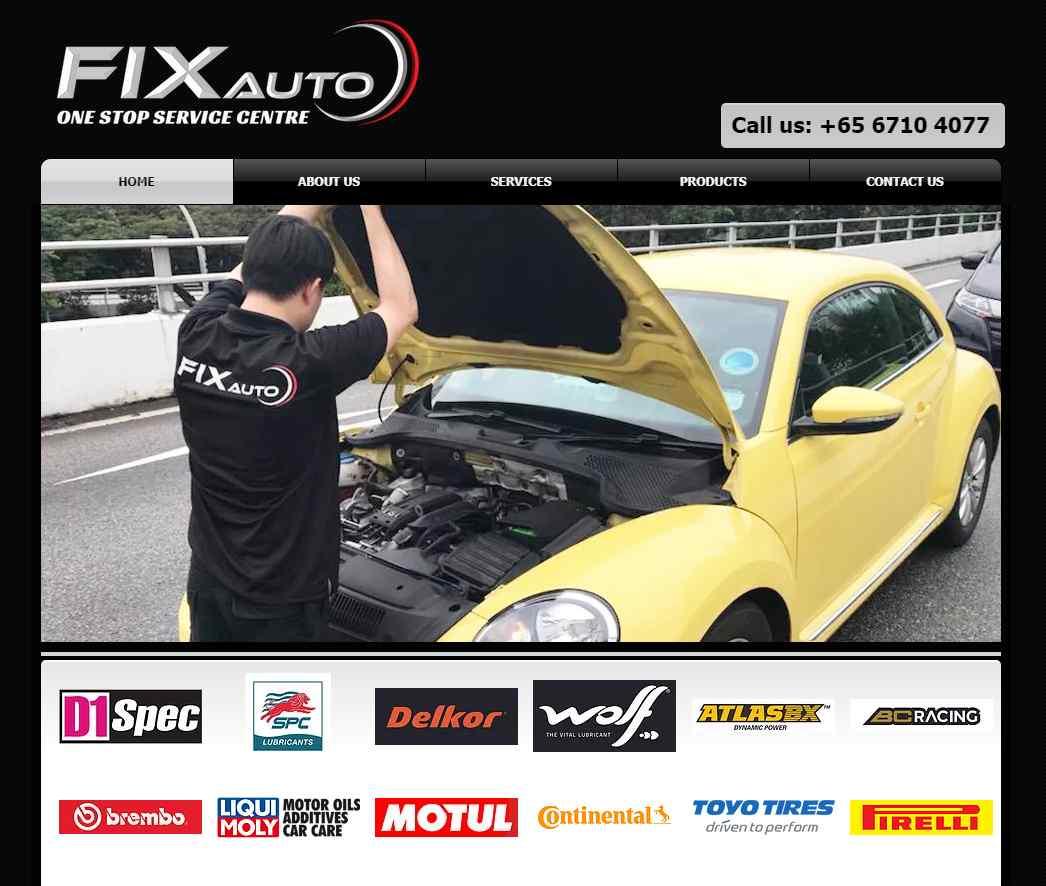 fix auto Top Car Servicing Workshops in Singapore