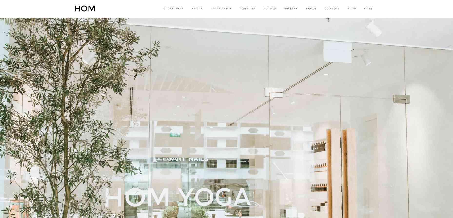 hom yoga Top Yoga Studios in Singapore