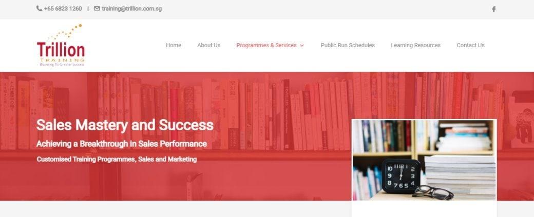 trillion Top Sales Training Courses in Singapore