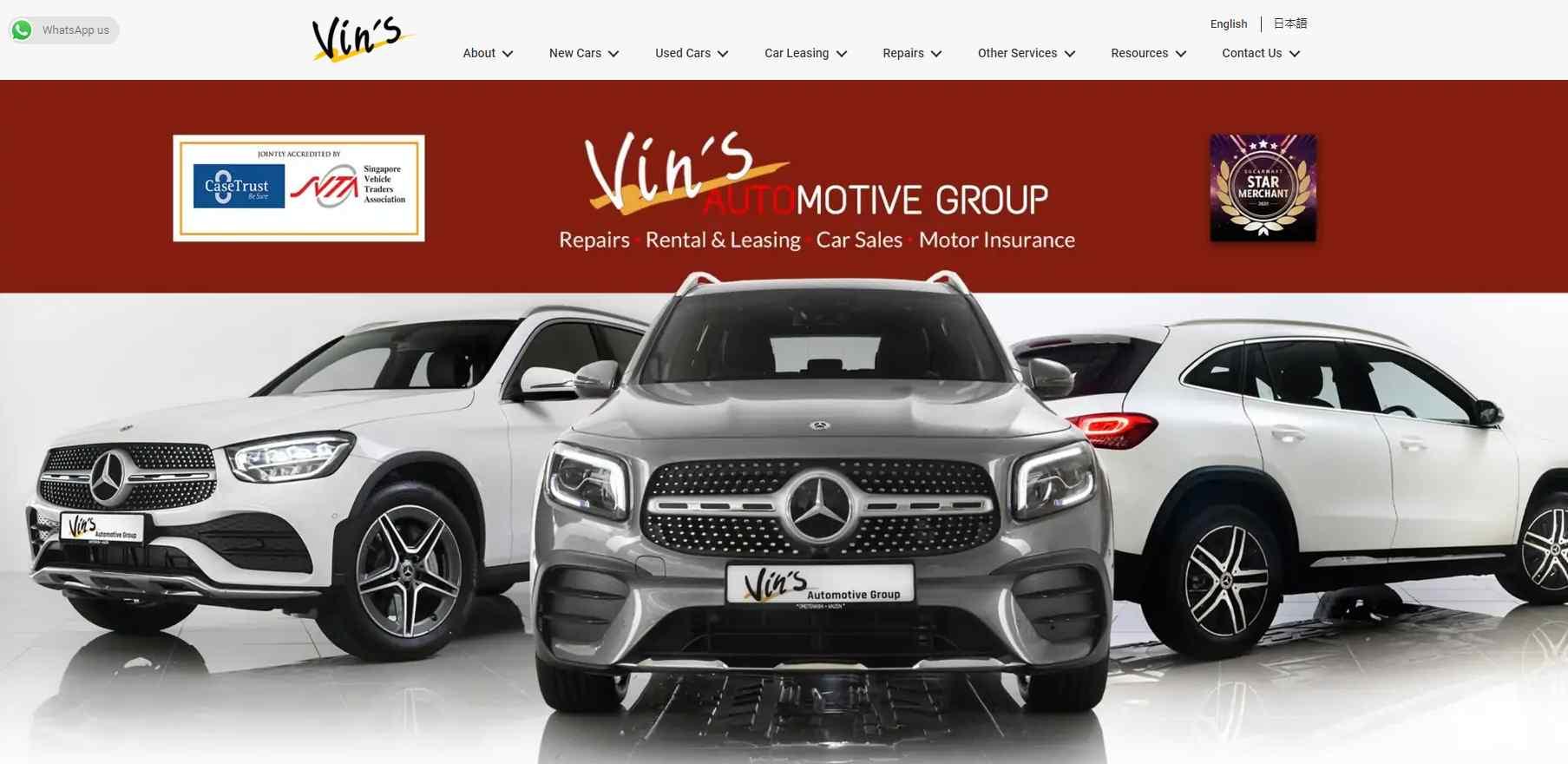 vins auto Top Car Servicing Workshops in Singapore