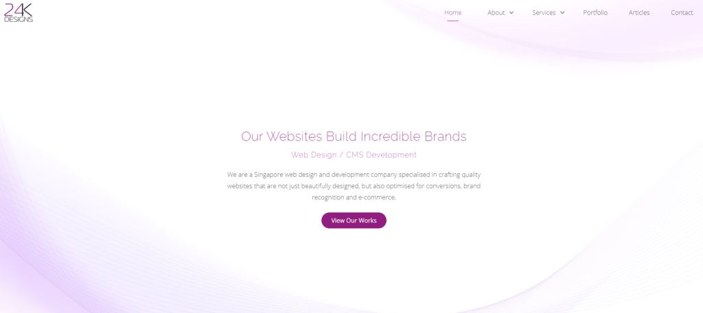 24K 70 Top Web Design Agencies In Singapore