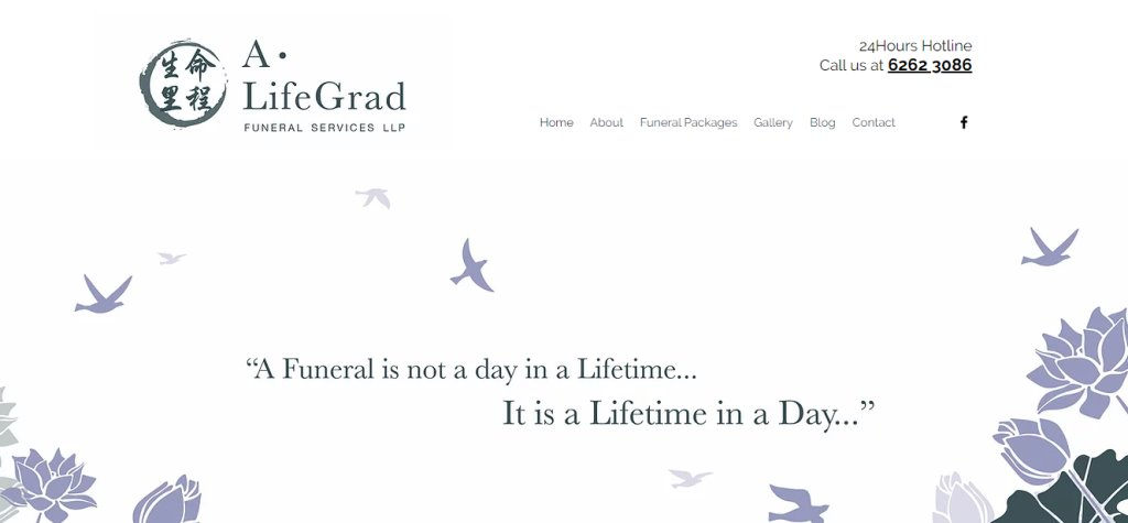 A Life Grad Top Funeral Services in Singapore