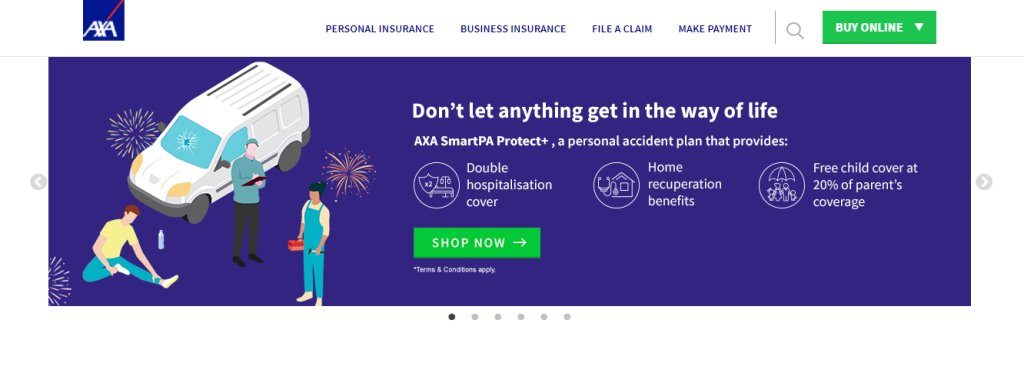 AXA Top Travel Insurance in Singapore
