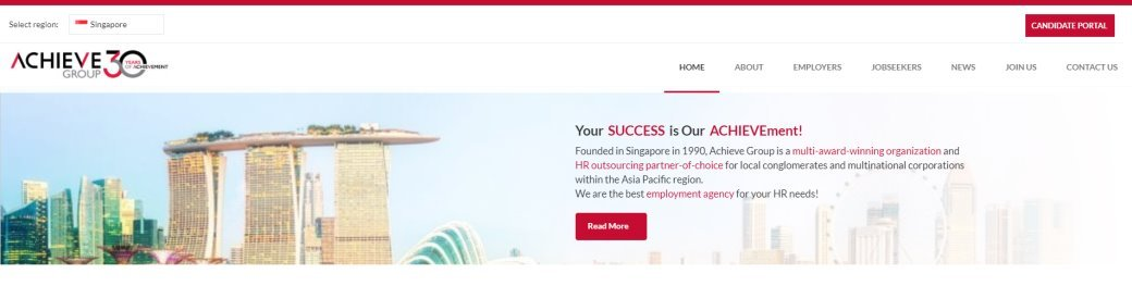 Achieve 30 Top HR Consultancy Firms in Singapore