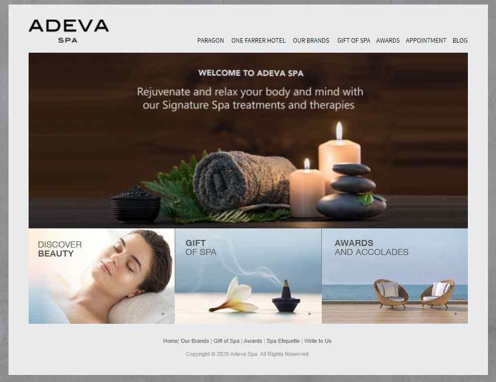 Adeva Top Couple Spas in Singapore