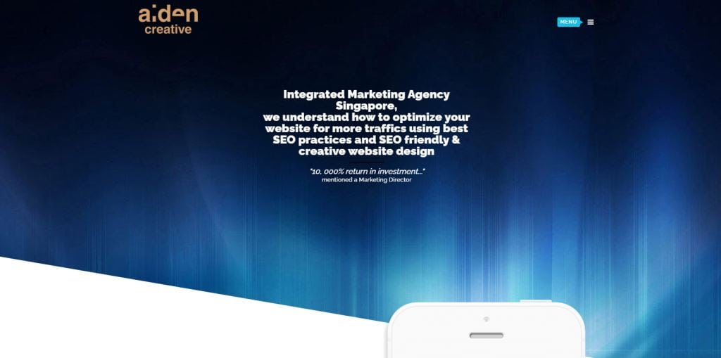 Aiden Creative 70 Top Web Design Agencies In Singapore