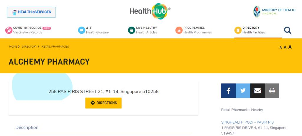 Alchemy Pharma Top Pharmacists in Singapore