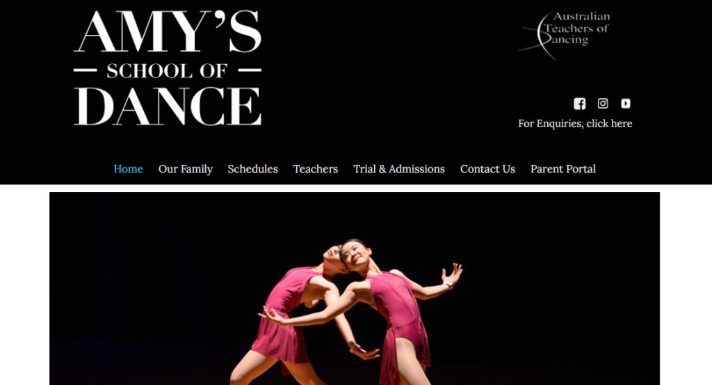 AmyDance Arts Top Dance Studios in Singapore