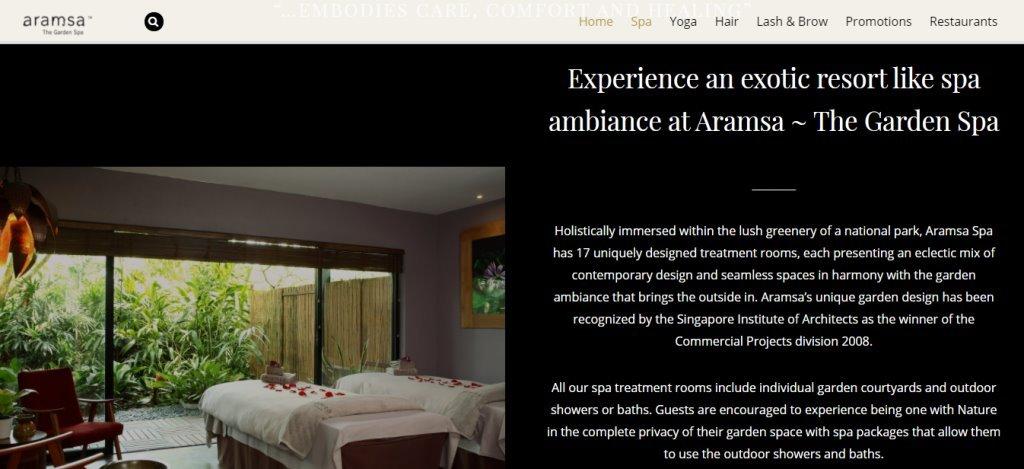 Aramsa Top Massage Spas in Singapore