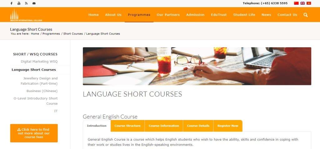 Beacon Top Korean Language Schools in Singapore