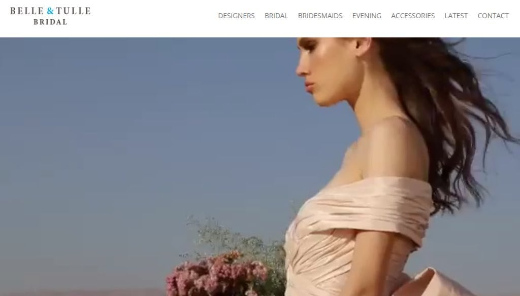 Belle & Tulle Top Wedding Dress Stores in Singapore