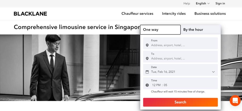 Black Lane Top Limousine Services in Singapore