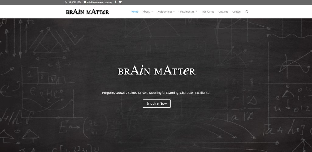 Brain Matter Top Humanities Tuition Centres in Singapore