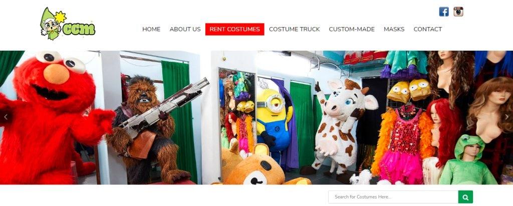 CCM Top Costume Rentals in Singapore