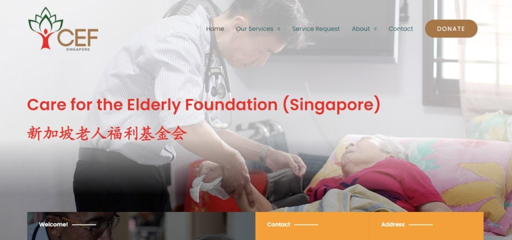 CEF Top Geriatric Care Services in Singapore