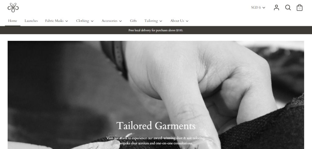 CYC Top Tailors in Singapore