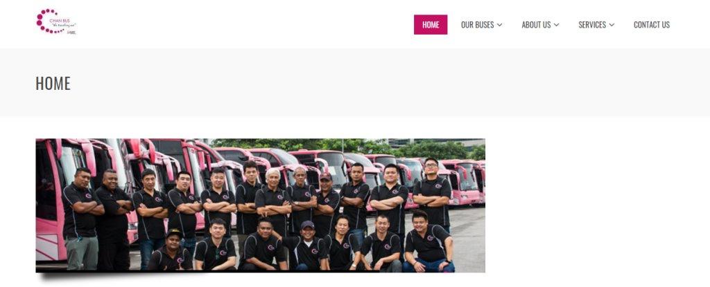 Chan Bus Top Bus Charter Rental in Singapore