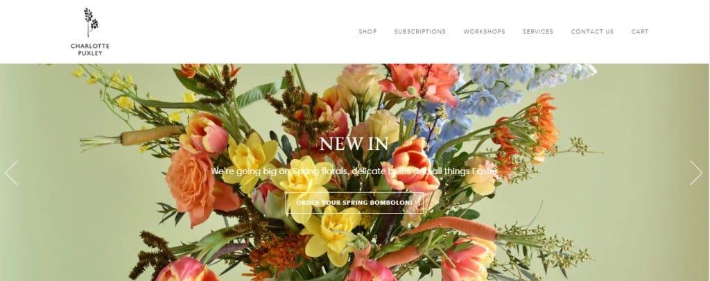 Charlotte Puxley Top Flower Arrangement Classes in Singapore