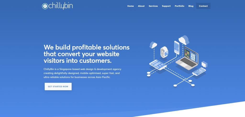 Chilly Bin 70 Top Web Design Agencies In Singapore