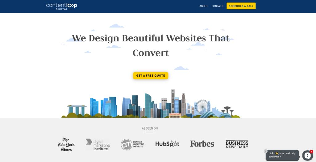 Content Loop 70 Top Web Design Agencies In Singapore