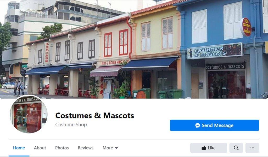 Costumes & Mascots Top Costume Rentals in Singapore