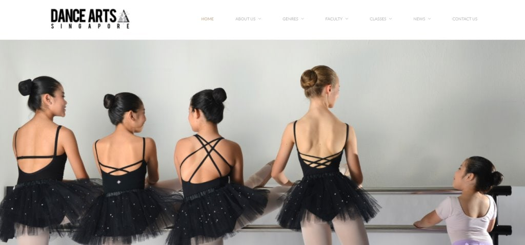 DanceArts Top Dance Studios in Singapore