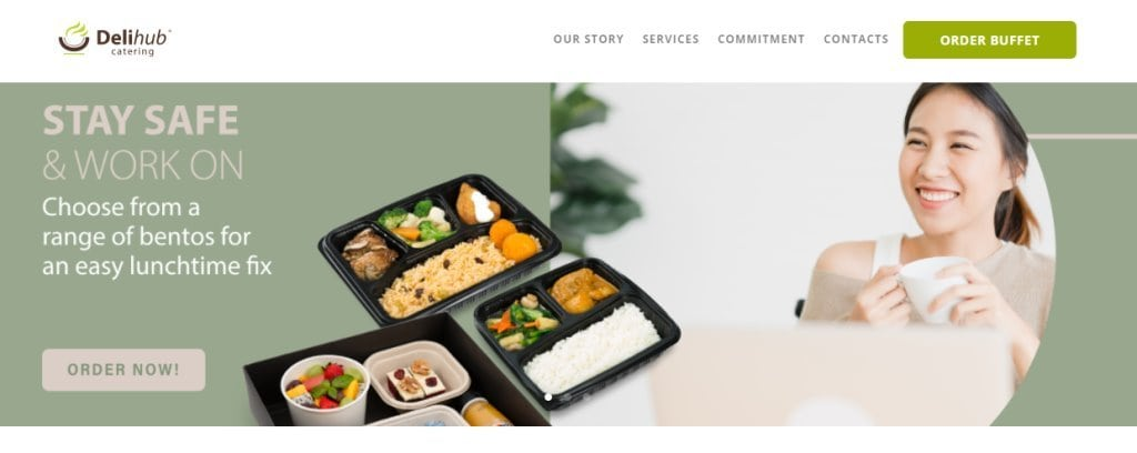 Deli HUb Top Food Caterers in Singapore
