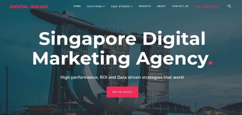 Digital Squad 10 Types Digital Marketing Agencies in Singapore
