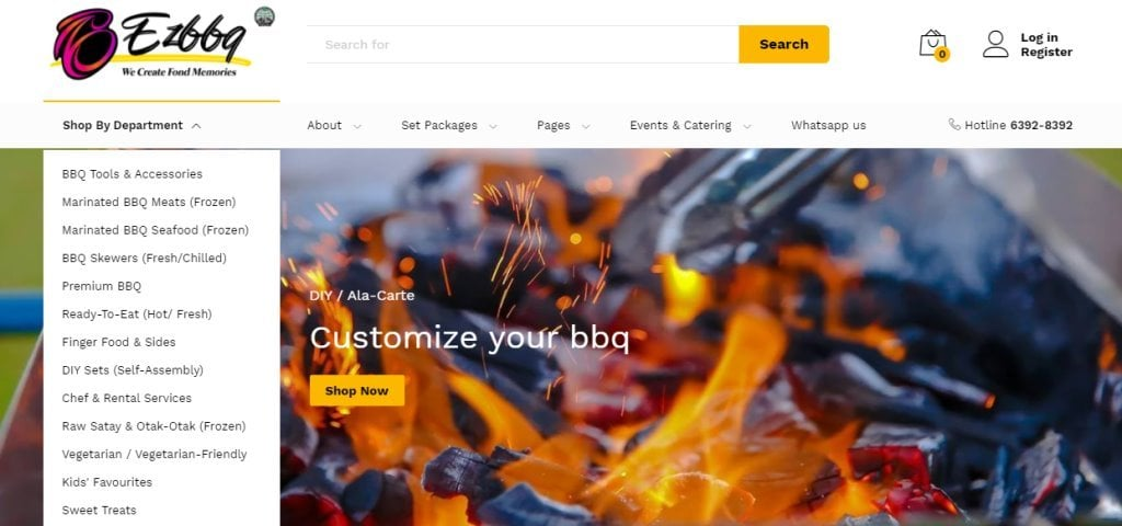EZ BBQ Top BBQ Delivery Services in Singapore
