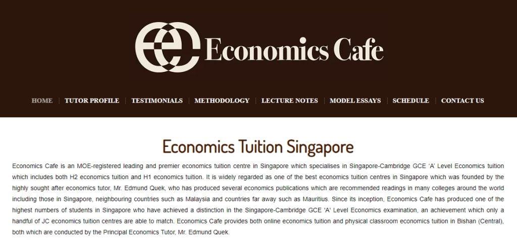 Economics Cafe Top Economics Tuition Agencies in Singapore