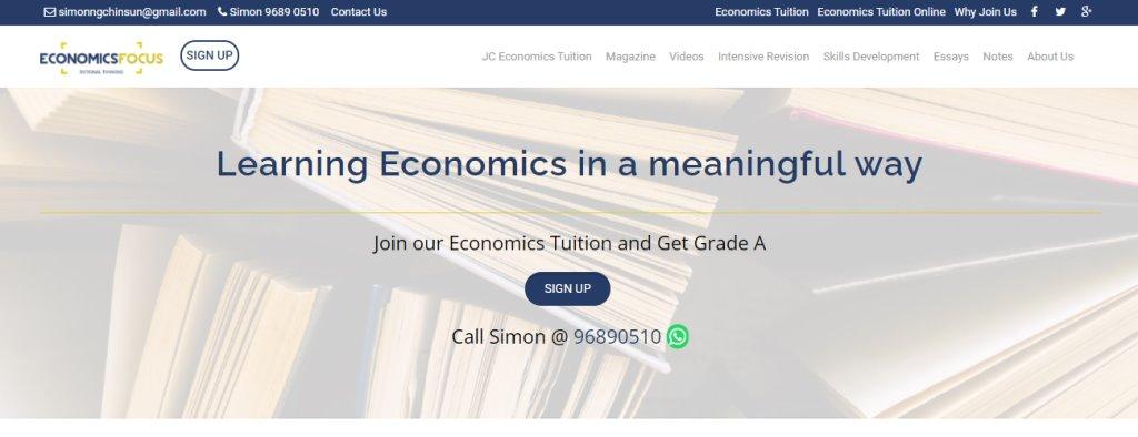 Economics Focus Top Economics Tuition Agencies in Singapore