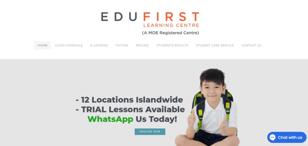 Edu First Top Maths Tuition Centres in Singapore