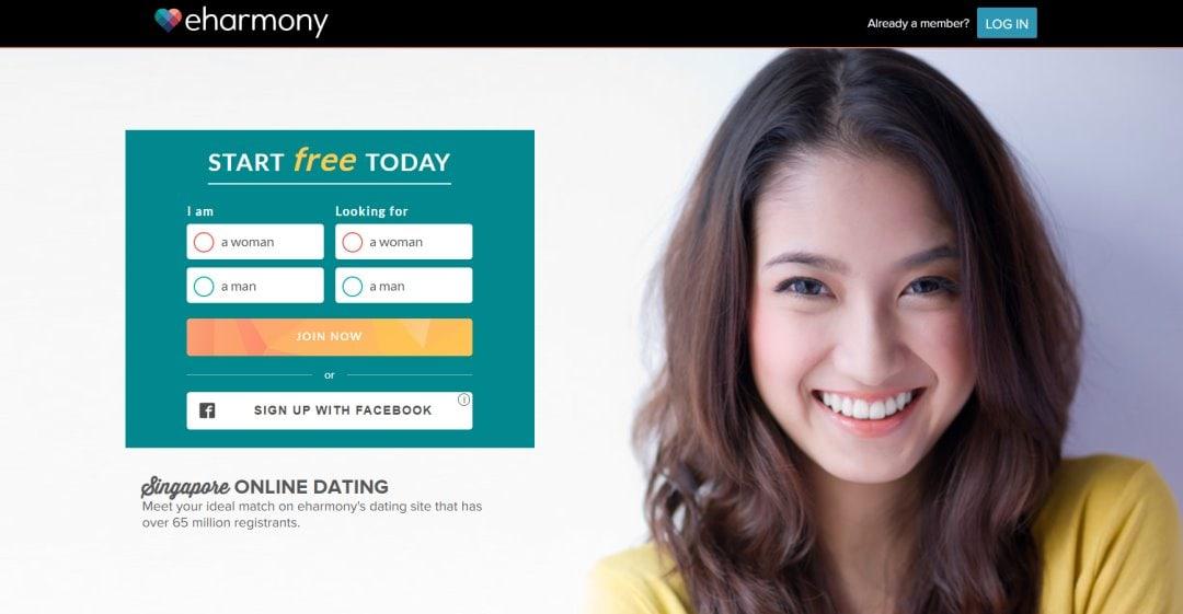 Eharmony Top Dating Sites in Singapore