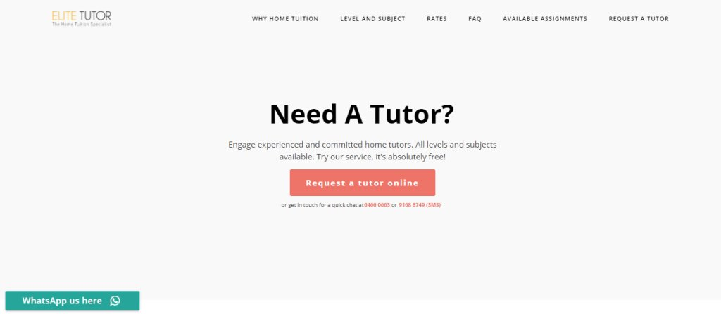 Elite Tutor Top Maths Tuition Centres in Singapore