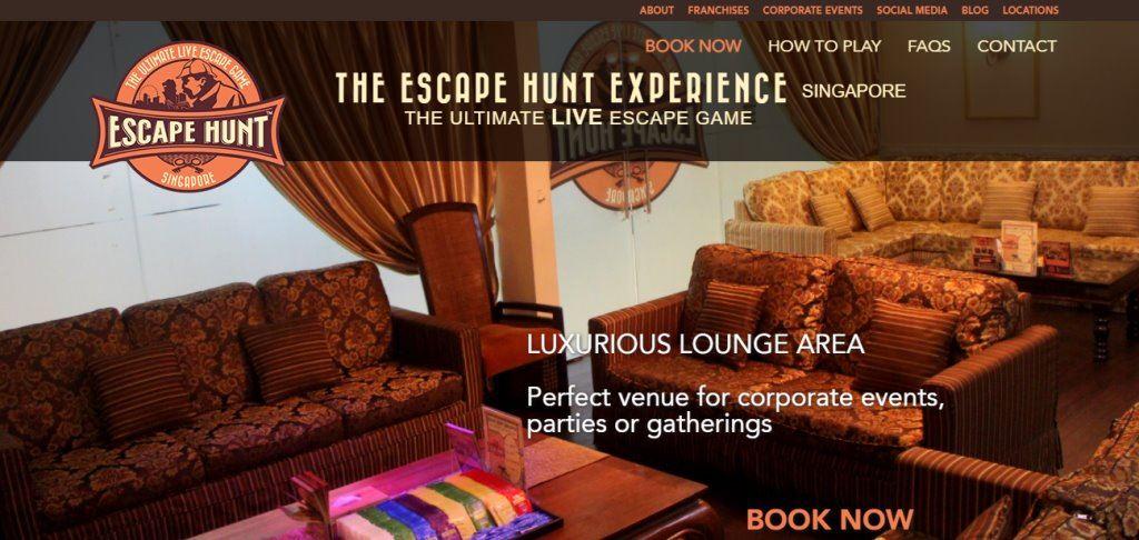 Escape Hunt Top Escape Rooms in Singapore