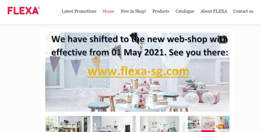 Flexa Top Baby Stores in Singapore