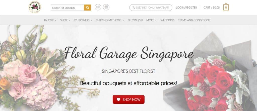 Floral Garage Top Flower Arrangement Classes in Singapore