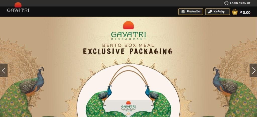 Gayatri Top Indian Restaurants in Singapore