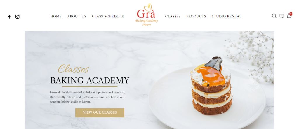 Gra Baking Academy Top Baking Classes In Singapore