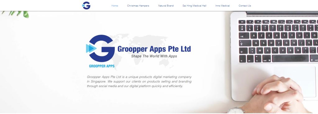 Grooper 70 Top Web Design Agencies In Singapore