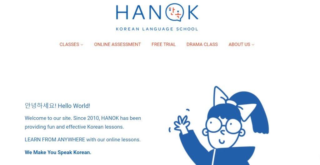 Hanok Top Korean Language Schools in Singapore