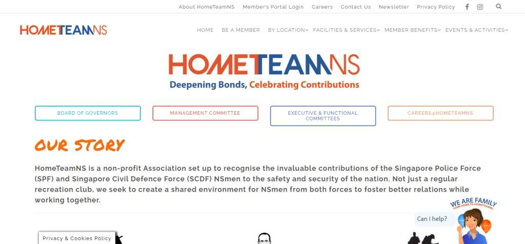 Home Team NS Top Team Building Services in Singapore