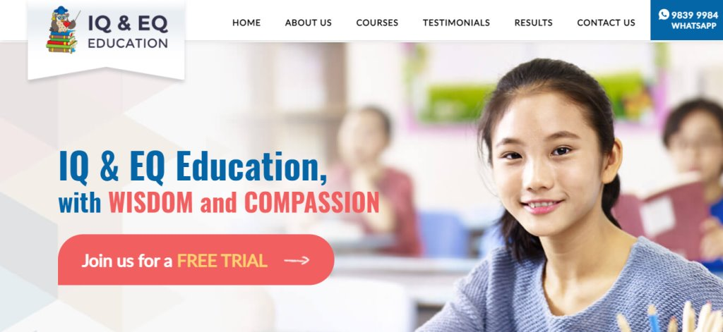 IQ and EQ Top Maths Tuition Centres in Singapore