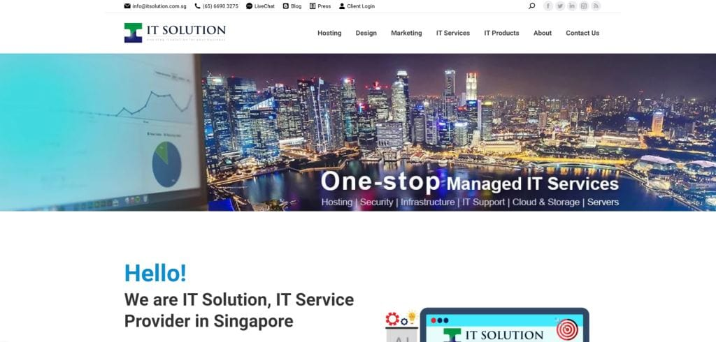 IT Solution 70 Top Web Design Agencies In Singapore