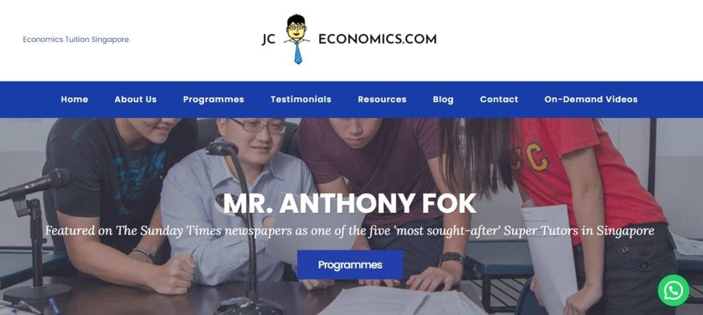 JC Economics Top Economics Tuition Agencies in Singapore