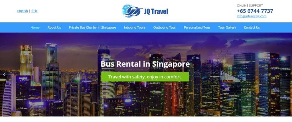 JQ Rental Top Bus Charter Rental in Singapore